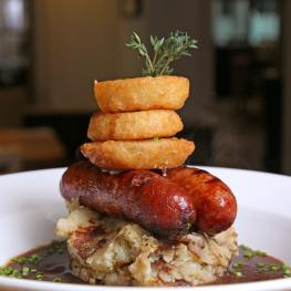 The Limes, Faversham - Sausage Mash